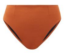 Vintage High-rise Crepe Bikini Briefs