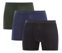 Pack Of Three Lyocell-blend Boxer Briefs