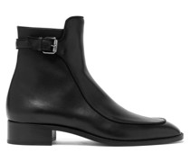 Ecritoir Leather Ankle Boots