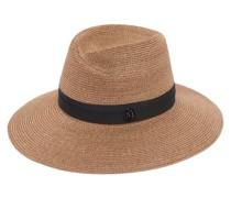 Virginie Woven Hemp-straw Hat