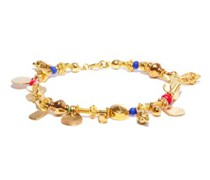 Fairy Tales 18kt Gold-plated Charm Bracelet