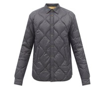 Dane Quilted-shell Overshirt