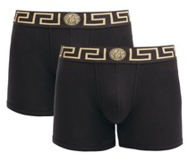 Pack Of Two Logo Cotton-blend Boxer Briefs