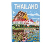 Thailand Embroidered Book Clutch