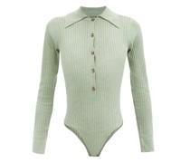 Pollie Cutout-back Jersey Bodysuit