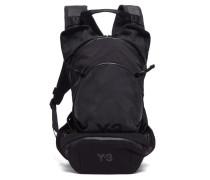 Logo-print Canvas Backpack