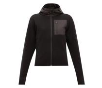 Matterhorn Zipped Technical-wool Hooded Sweatshirt