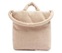 Felted Medium Wool-blend Tote Bag