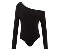 One-shoulder Jersey Bodysuit