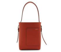 Bucket Small Saffiano Leather Bag