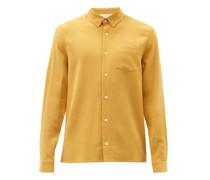 Hampus Patch-pocket Gauze Shirt