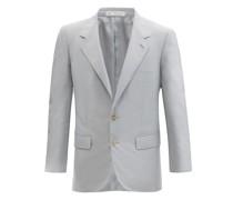 Richard Single-breasted Silk-twill Suit Jacket