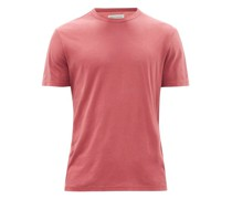 Crew-neck Pigment-dyed Jersey T-shirt