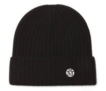 Gigi Logo-patch Cashmere Beanie Hat