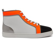 Louis Orlato Leather High-top Trainers