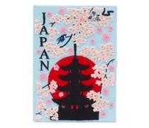 Japan Appliqué Book Clutch