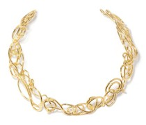 Twisted 14kt Gold-plated Brass Choker