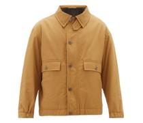 Chest-pocket Cotton-blend Jacket