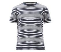 Harrison Striped Cotton-jersey T-shirt