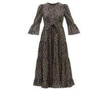 Cordelia Floral-print Twill Dress