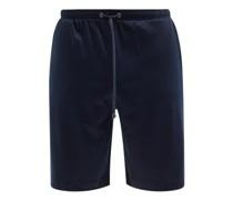 Drawstring Cotton-blend Jersey Pyjama Shorts