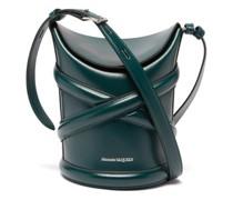 Curve Leather Bucket Bag