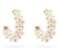 Lady Pearl 18kt Gold Earrings