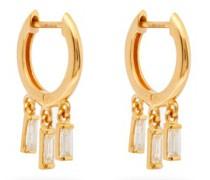 Hug Diamond & 18kt Gold Earrings