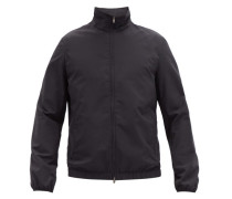 Leo Water-repellent Wool-blend Jacket