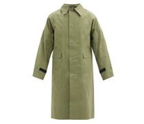Original Wax-coated Cotton-canvas Coat
