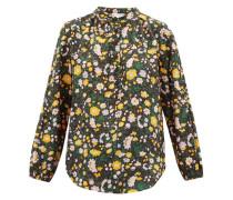 Core Bravo Floral-print Silk Blouse