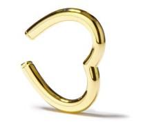 9kt Gold Heart Ear Cuff