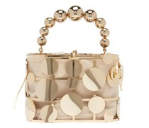 Holli Disc-embellished Cage Handbag