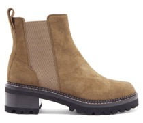 Crosta Chunky-sole Suede Chelsea Boots