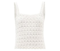 Darcey Crocheted Cotton Top