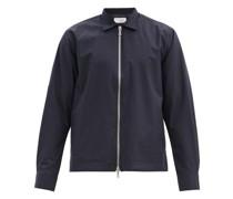 Stanislas Point-collar Wool-blend Jacket
