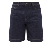 Palermo Selvedge-denim Wide-leg Shorts