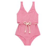 Yasmin Cotton-blend Terry Swimsuit