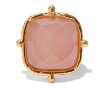 Coussin Rose-quartz Ring