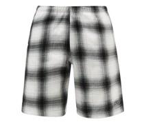 Coastin Check Cotton-fleece Shorts
