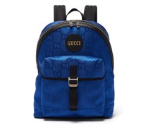 Off The Grid Gg-jacquard Canvas Backpack