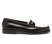 Weejuns Larson Colour-block Leather Penny Loafers
