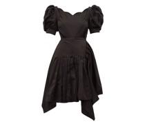 Felixa Scalloped Silk-charmeuse Dress