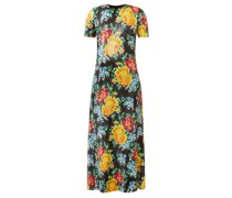 Floral Sequinned-georgette Maxi Dress