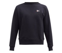Sati Logo-embroidered Cotton-jersey Sweatshirt