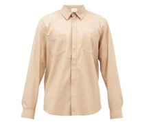 Declan Faux-leather Shirt
