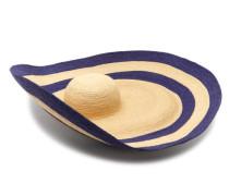 Smoke Rings Woven-raffia Hat