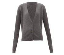 Organic-cashmere Knitted Cardigan