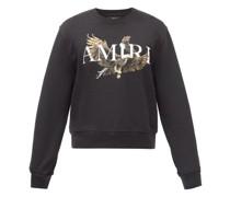 Eagle-print Cotton-jersey Sweatshirt