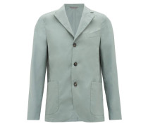 Armie Single-breasted Cotton-poplin Suit Jacket